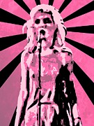 Lead Singer Prints - Sunday Girl Print by Lance Vaughn