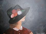Sunday Hat Print by Glenda Barrett