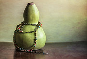 Interior Still Life Photo Metal Prints - Sunday Still Life Metal Print by Terry Rowe