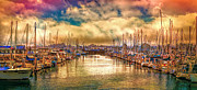 Steve Benefiel - Sundown at the Marina