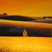 Leonard Heid - Sundown on the Palouse
