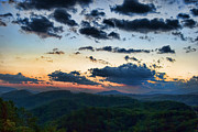 Gatlinburg Tn Prints - Sundown Print by Steven Richardson