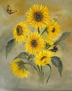 Carol Sweetwood - Sunflower Bouquet