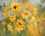 Lori Quarton - Sunflower Explosion