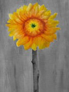 Blooming Paintings - Sunflower Morning by Heather Gallardo
