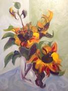 Karen Carmean  - Sunflower Pirouette