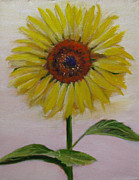 Sherry Robinson Art - Sunflower by Sherry Robinson