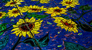 Michael Moriarty - Sunflower Tiled Oil...