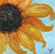 Modernism Mixed Media - Sunflower by Venus