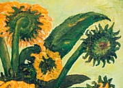 Jott Dgottoel Fine Art - Sunflowers #2a For...