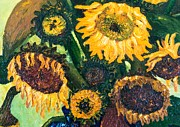 Jott Dgottoel Fine Art - Sunflowers #2d For...
