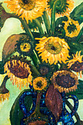 Jott Dgottoel Fine Art - Sunflowers #2e For...
