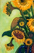 Jott Dgottoel Fine Art - Sunflowers #2N For...