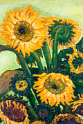 Jott Dgottoel Fine Art - Sunflowers #2o For...