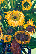 Jott Dgottoel Fine Art - Sunflowers #2P For...