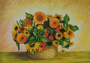 Alena Fotkova - Sunflowers