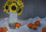 Barbara Benedict Jones - Sunflowers and Oranges