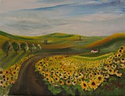 Maria Milazzo - Sunflowers in July