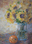 Bart DeCeglie - Sunflowers in vase