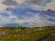 Helen Campbell - Sunflowers North of...