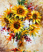 Leonid Afremov - Sunflowers of Happiness...