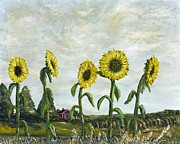 Richard Wandell - Sunflowers