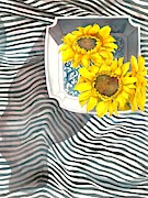 Sunflowers Print by Sayyidah Seema Zaidee