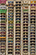 Sunglasses Photo Framed Prints - Sunglasses Framed Print by Peter Tellone