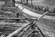 Antietam Photos - Sunken Road - BW by Paul W Faust -  Impressions of Light