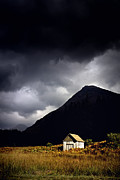 Leaden Sky Prints - Sunlit Shack Print by Craig Brown