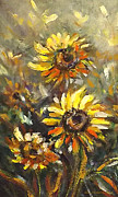 Gina Gray Paintings - Sunny 2 by Gina De Gorna