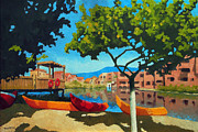 Johnny Trippick Art - Sunny Afternoon in Tenerife by Johnny Trippick