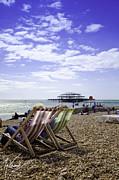 Sunny Brighton Print by Max CALLENDER