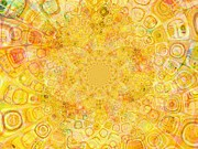 Inversion Prints - Sunny Center Print by Dana Hermanova