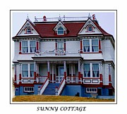 John Stewart Prints - Sunny Cottage Print by Barbara Griffin