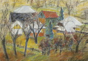 March Pastels - Sunny Day of March. Kaczyka by Silviu Parascan