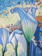 Calla Lilly Prints - Sunny Dreams Print by Andrei Attila Mezei