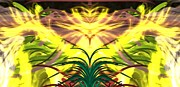 Best Sellers Digital Art Prints - Sunny Fern Print by Sherry Gombert