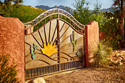 Sunny Gate Print by Judi FitzPatrick