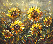 Gina Gray Paintings - Sunny by Gina De Gorna