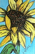 Marcia Weller-wenbert Metal Prints - Sunny Seeds Metal Print by Marcia Weller-Wenbert