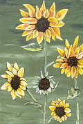 Marcia Weller-wenbert Metal Prints - Sunny Smile Metal Print by Marcia Weller