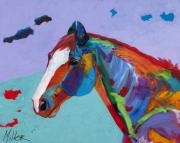 Horses In Art Posters - Sunny Poster by Tracy Miller