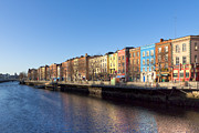 Ireland Prints - Sunny Winter Day in Dublin Ireland Print by Mark E Tisdale