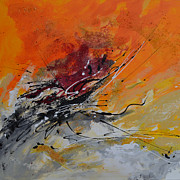 Paiting Originals - Sunrise - Abstract by Ismeta Gruenwald