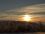 Sharon Miller - Sunrise After An Ice...