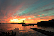 Dick Wood - Sunrise at Bar Harbor...