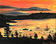 Helena Bebirian - Sunrise at Bar Harbor...
