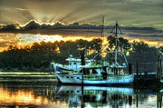 Micdesigns Originals - Sunrise at Billys by Michael Thomas