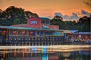 Pier Digital Art Originals - Sunrise at Lulus by Michael Thomas